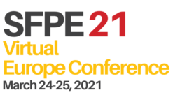 4th SFPE Europe Conference | 24 +25 March 2021 | online