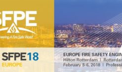 2018 SFPE EUROPE FIRE SAFETY CONFERENCE